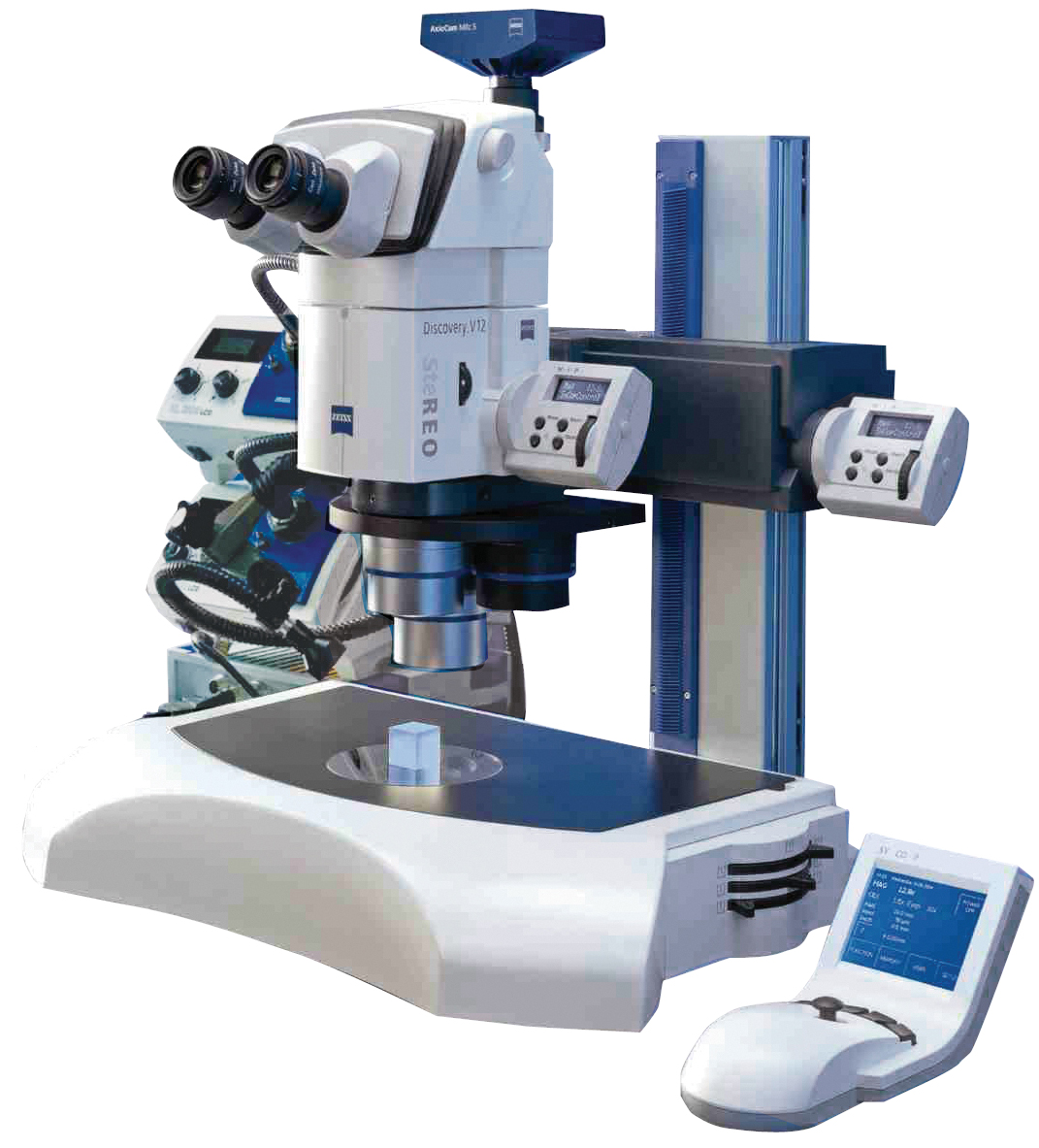 Discovery Series V12 Stereomicroscopes
