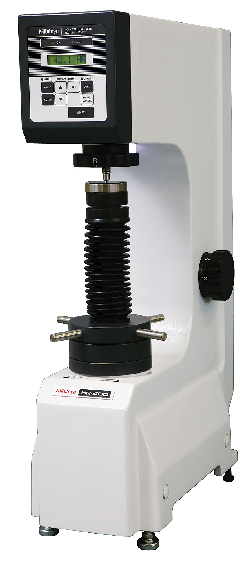 Mitutoyo HR-320MS Rockwell/Rockwell Superficial Hardness Tester
