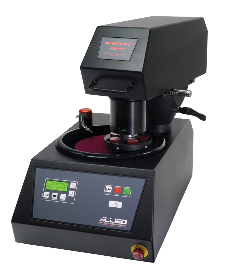 MetPrep 3™ Grinder/Polisher with Power Head