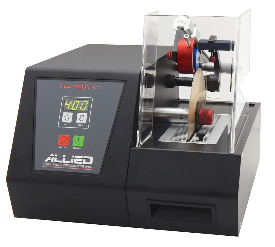 Semiconductor Test Labs : Allied high tech techcut ™ precision low speed saw